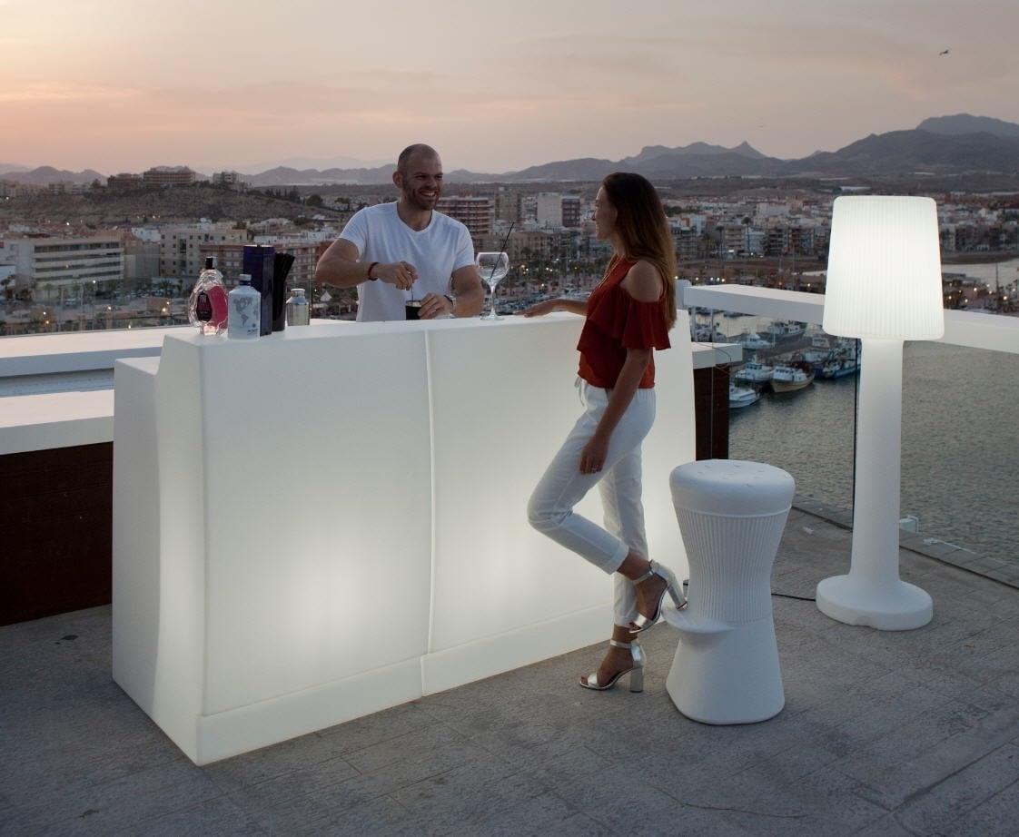 Las Barras De Bar Iluminadas Son Perfectas Para Tu Casa Con